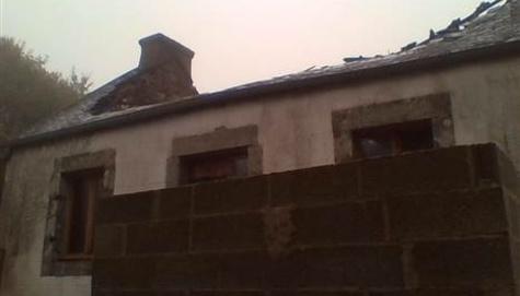 Diagnostic amiante avant travaux suite à un sinistre incendie-Finistère (29)