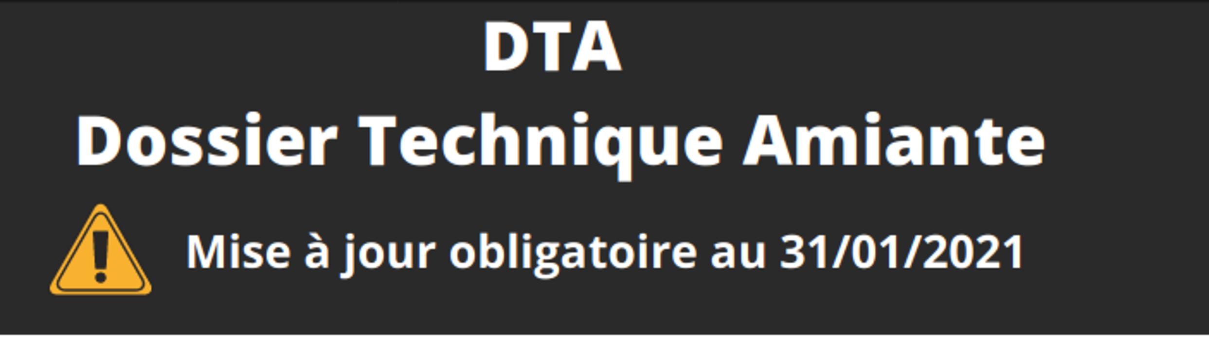 DTA Dossier Technique Amiante 0