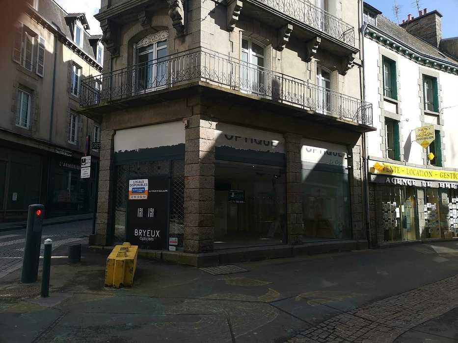 Diagnostic amiante avant travaux réalisé - immeuble du centre ville de St Brieuc pat2